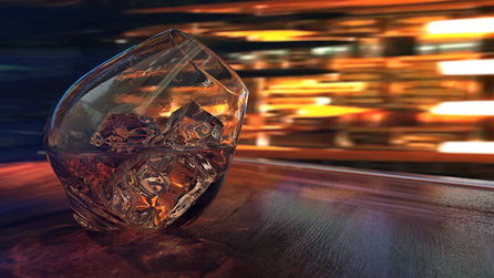 Creating a Photorealistic Whiskey Glass in Modo