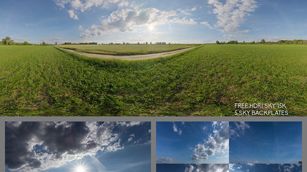 Free HDR sky 15 k with Backplates 5k - Direct Download   Foundry
