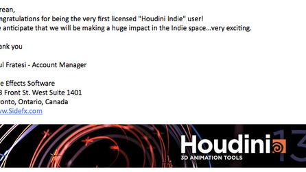 Houdini Indie | Foundry Community