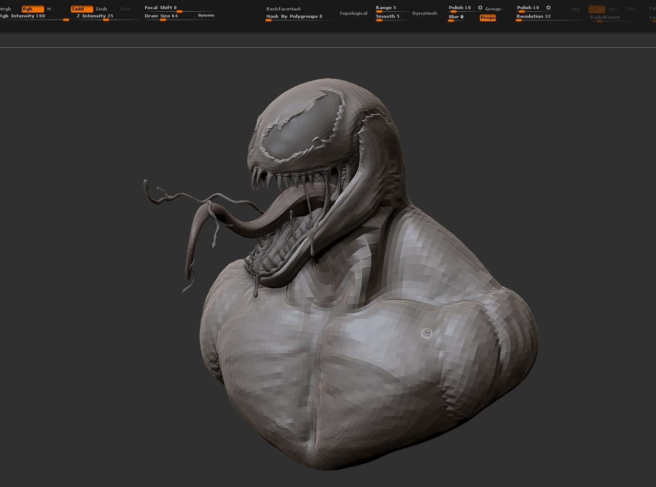Venom - Zbrush to MODO workflow | Foundry Community