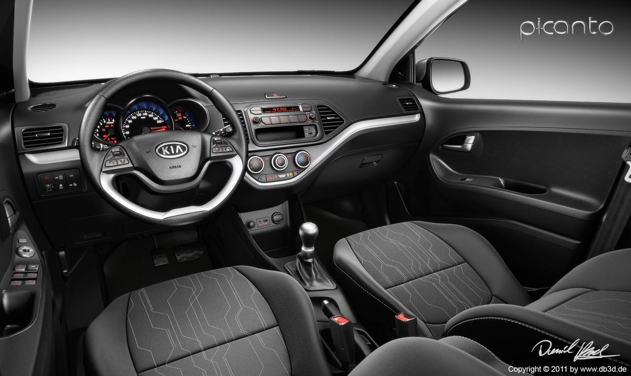 KIA Picanto Car Interior   Foundry Community